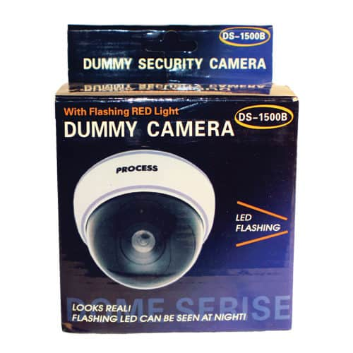 Dummy Dome Camera With LED, White Body Package