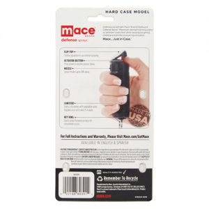 Mace® Pepper Spray Hard Case Instructions