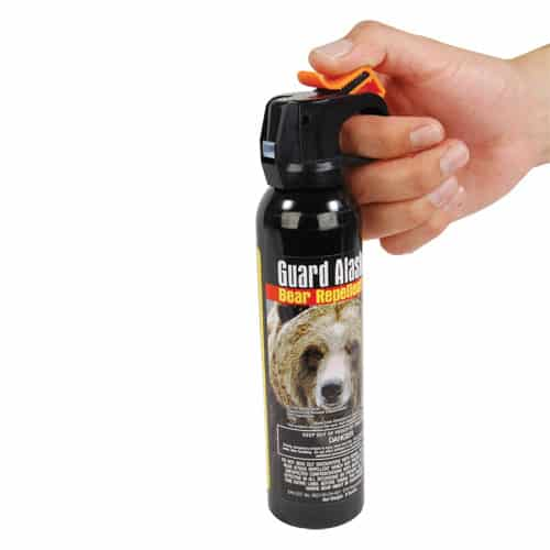 Bear Repellent Use