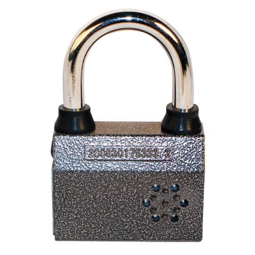Small Alarmed Padlock