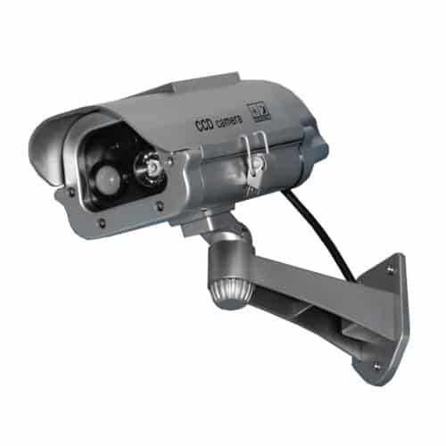 Solar Powered Dummy Camera with Motion Activated Flashing LED