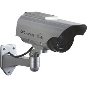 Solar Powered Dummy Camera with Flashing LED